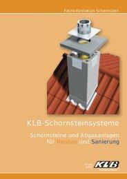 KLB Schornstein Prospekt - Warneke Baustoffe