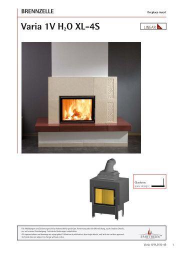 technik varia 1vh h2o xl 4s spartherm. Black Bedroom Furniture Sets. Home Design Ideas