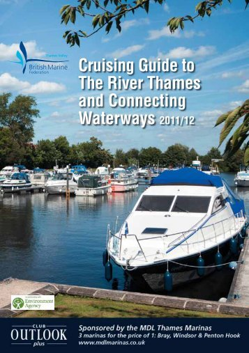 Cruising Guide to The River Thames and Connecting Waterways ...
