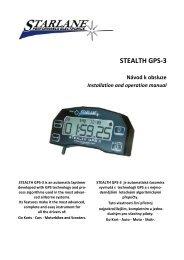 STEALTH GPS-3 - HD Com