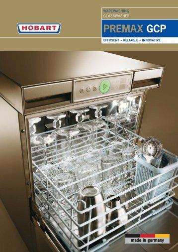 PREMAX GCP glasswasher - Brochure.pdf - Hobart Food Equipment