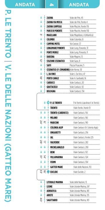 Linea 4 estate 2013 - Comune di Gatteo