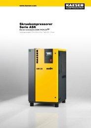 ASK 15–22 kW - KAESER Kompressorer