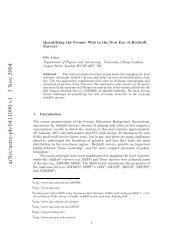 arXiv:astro-ph/0411090 v1 3 Nov 2004 - iucaa