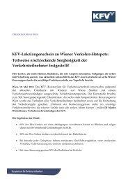 """Verleihung des Österreichischen Verkehrssicherheitspreises """"Aquila"""""""