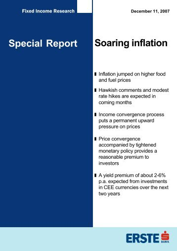 Soaring inflation Special Report - Bancherul