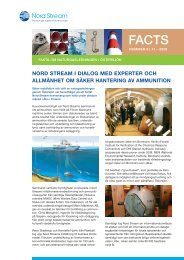FACTS - Nummer 8 - Nord Stream