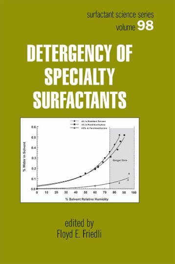 6 N-Acyl ED3A Chelating Surfactants: Properties and Applications in ...