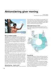 Hent Aktionslæring giver mening.pdf, som fylder - Ny Nordisk Skole