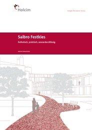 Saibro Festkies - Holcim Schweiz