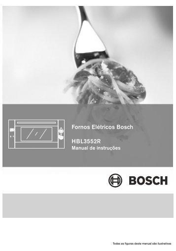 Fornos Elétricos Bosch HBL3552R - Mabe