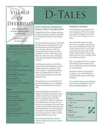 D-Tales - Village of Deerfield