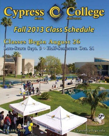 free download from the campus website. - News... - Cypress College