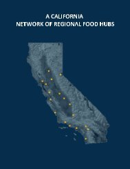 A California Network of Regional Food Hubs - Agricultural Marketing ...