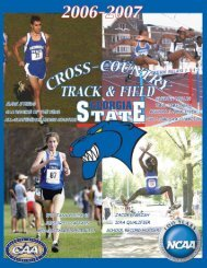 Guide Front Pages - Georgia State University Athletics