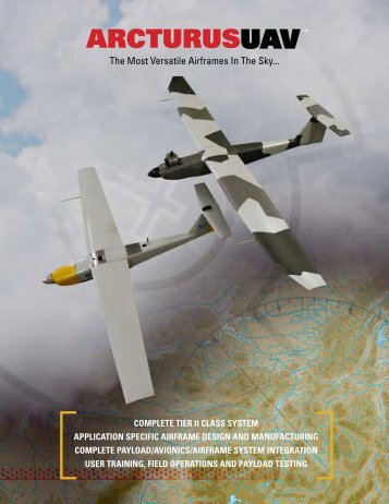 Download Specifications PDF - Arcturus UAV