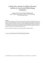Analysis by wavelet and Hilbert-Huang Transforms - Grzegorz Litak