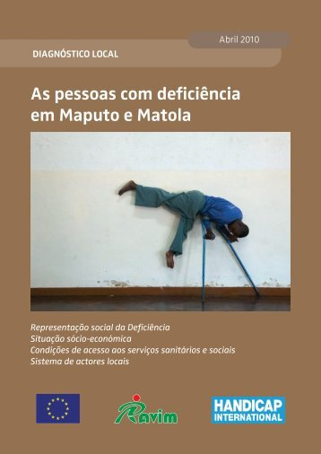 As pessoas com deficiência em Maputo e Matola - Handicap ...