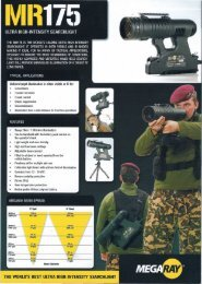 the world's best ultra high-intensity searchlight - JANADA