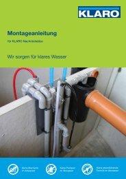 Montageanleitung - KLARO GmbH