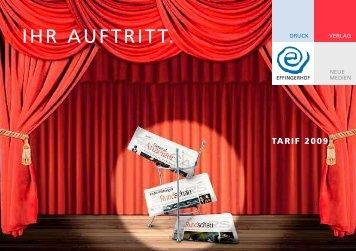 IHR AUFTRITT. - Effingerhof AG