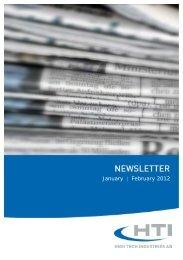 January | February 2012 - HTI - High Tech Industries AG