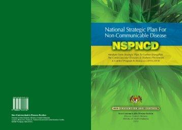 Non-communicable disease section (ncd) - Kementerian Kesihatan ...