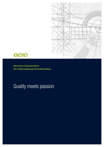 You can - GCIC German Consortium for International Construction