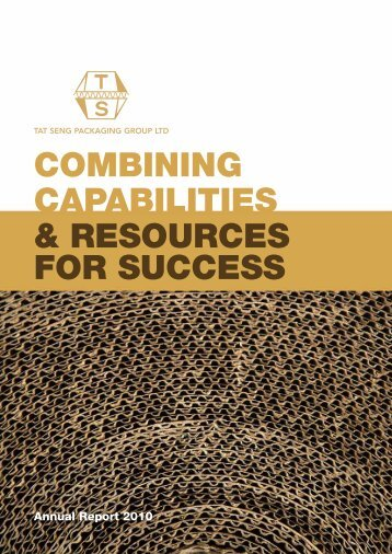 COMBINING CAPABILITIES & RESOURCES FOR SUCCESS