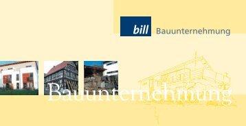 Lang DIN Quer n 071205 RZ - Bill GmbH Bauunternehmung