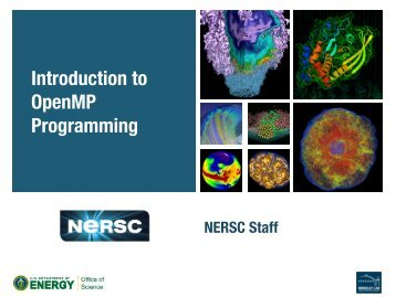 Introduction to OpenMP Programming - NERSC