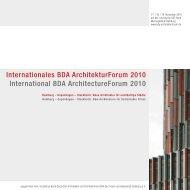 Programmheft als PDF zum Download. - BDA-Hamburg