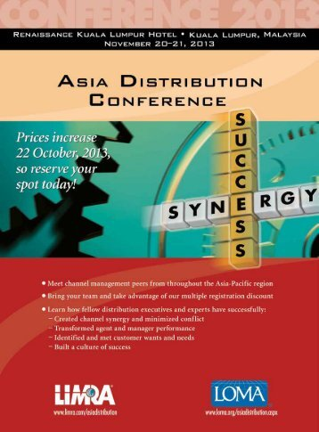 2013 Asia Distribution Conference (2013) - LOMA