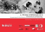 6. PM Bau Symposium 2012