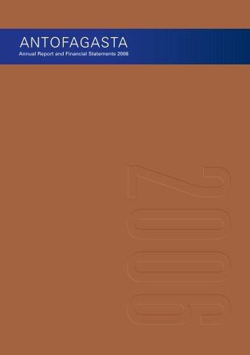 Annual Report 2006 - Antofagasta plc