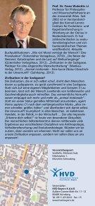 Zivilisation in der Sackgasse? Die Heraus forderungen der ... - Seite 2