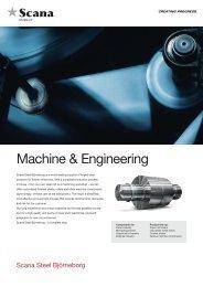 Machine & Engineering - Scana Industrier ASA