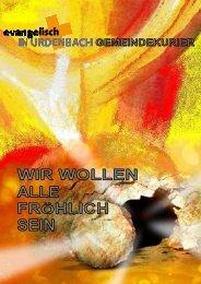 Gemeindebrief 2-2012 - Evangelisch in Urdenbach
