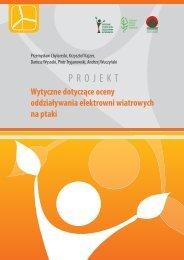 Wytyczne dotyczące oceny oddziaływania elektrowni ... - Bio Study