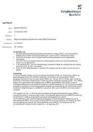 nazending agendapunt 7 - Veiligheidsregio IJsselland