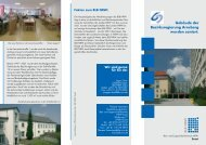 Gebäude der Bezirksregierung Arnsberg wurden saniert. - Bau