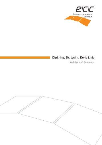 Dipl.-Ing. Dr. techn. Doris Link - ECC Bauprozessmanagement GmbH