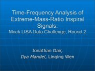 Time-Frequency Analysis of Extreme-Mass-Ratio Inspiral ... - chgk.info