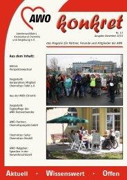 Aktuell · Wissenswert · Offen - AWO Chemnitz