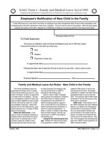 Family Or Medical Leave Of Absence (Fmla) - Southwestern Law School