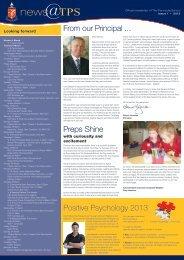 Issue 1 February 2013 - The Peninsula School