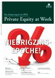 Anlegermagazin 7/2013 - Pfeffer-Finanzen