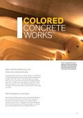 Colored Concrete WorksTM - LANXESS pigments for coloring ... - Seite 5