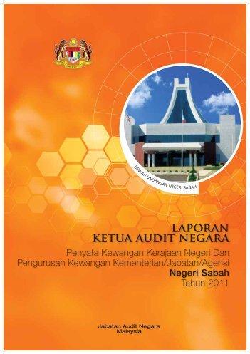 Negeri Sabah - Jabatan Audit Negara