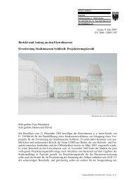 Erweiterung Stadtmuseum Schlössli; Projektierungskredit - Aarau